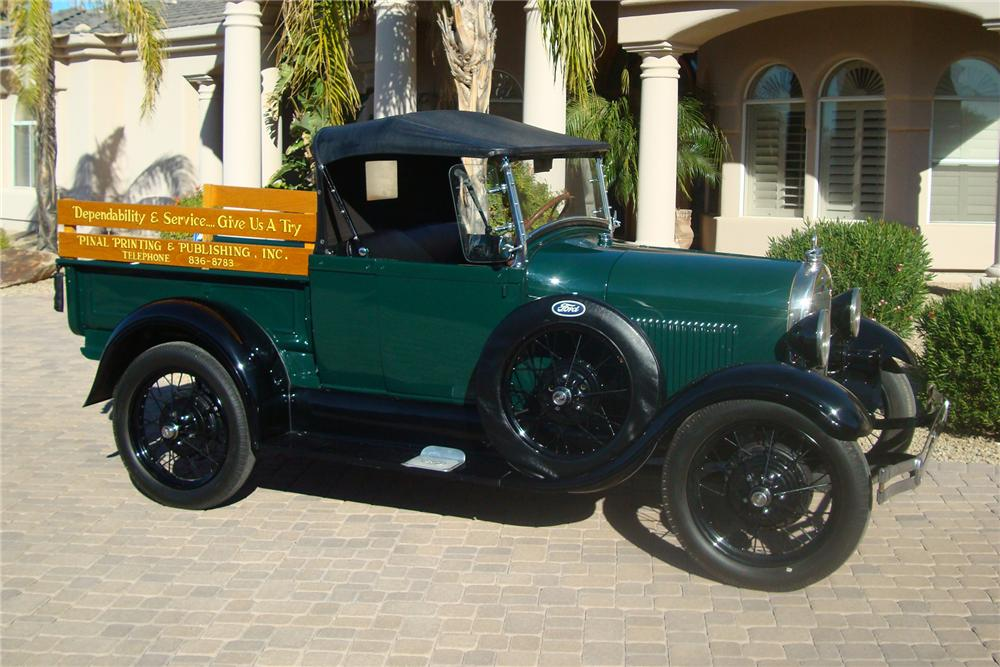 1928 FORD MODEL A PICKUP - Side Profile - 94047
