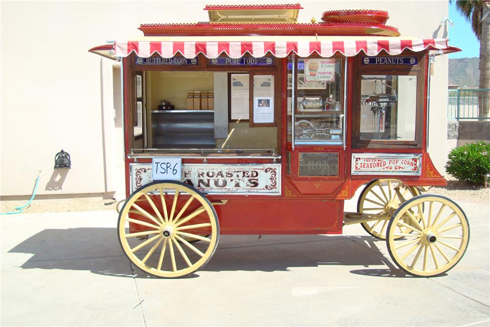 0 POPCORN WAGON CRETOR MODEL C - Side Profile - 94050