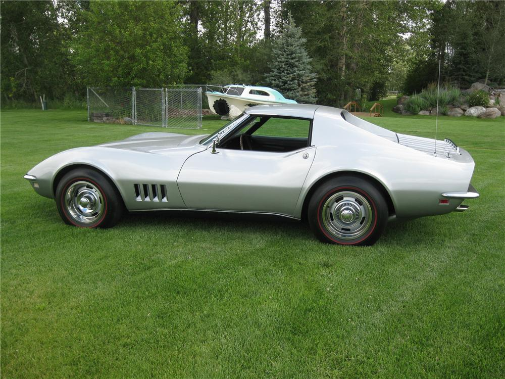 1968 CHEVROLET CORVETTE COUPE - Side Profile - 94055