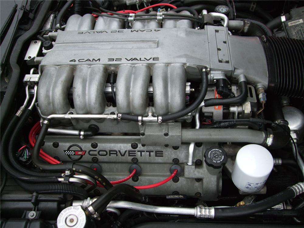 1990 CHEVROLET CORVETTE ZR1 COUPE - Engine - 94059