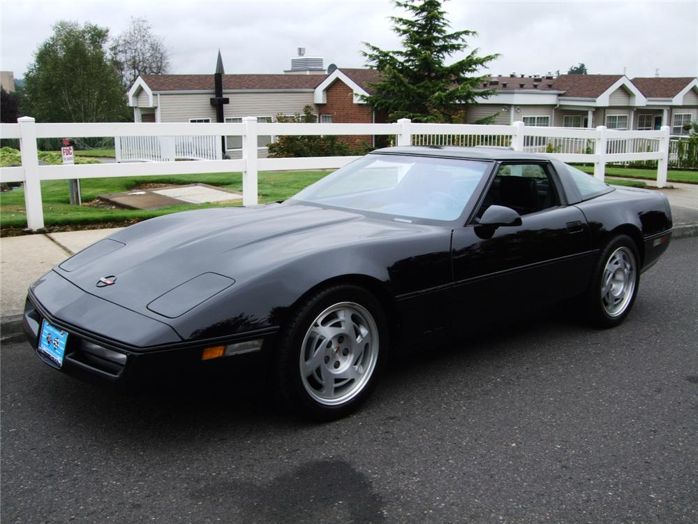 1990 CHEVROLET CORVETTE ZR1 COUPE - Front 3/4 - 94059