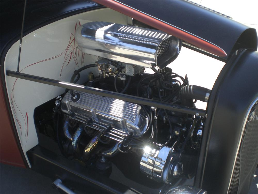 1932 FORD CUSTOM PICKUP - Engine - 94061