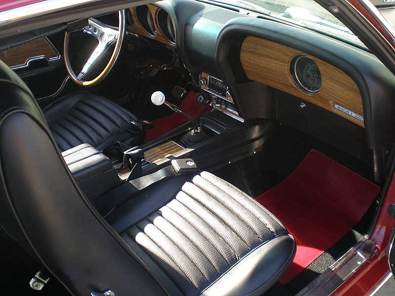 "1969 FORD MUSTANG 428 CJ ""R"" FASTBACK - Interior - 94067"