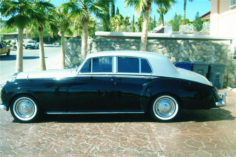 1962 BENTLEY S3 4 DOOR SEDAN - Side Profile - 94076