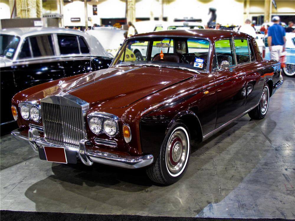1967 ROLLS-ROYCE SILVER SHADOW 4 DOOR SEDAN - Front 3/4 - 94077