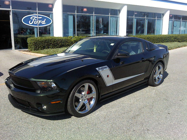 2010 FORD MUSTANG ROUSH COUPE BARRETT-JACKSON EDITION - Front 3/4 - 94086