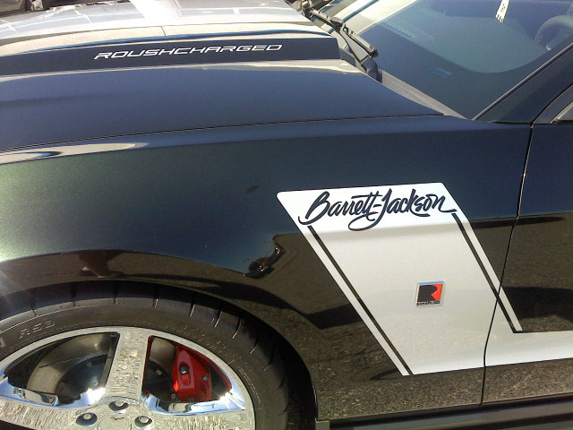 2010 FORD MUSTANG ROUSH COUPE BARRETT-JACKSON EDITION - Side Profile - 94086