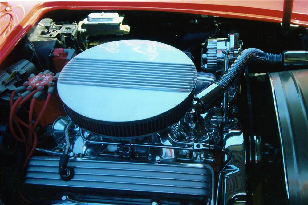 1958 CHEVROLET CORVETTE CUSTOM CONVERTIBLE - Engine - 94089