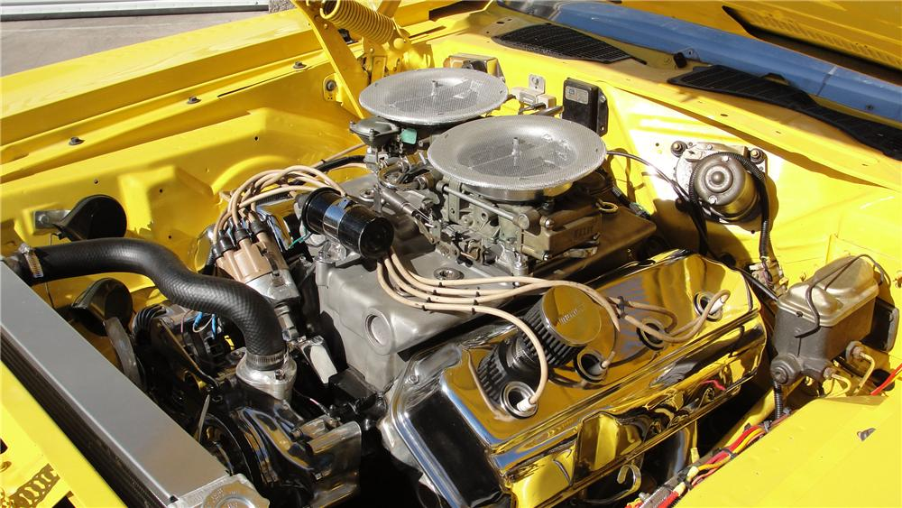1970 PLYMOUTH BARRACUDA CONVERTIBLE - Engine - 94095