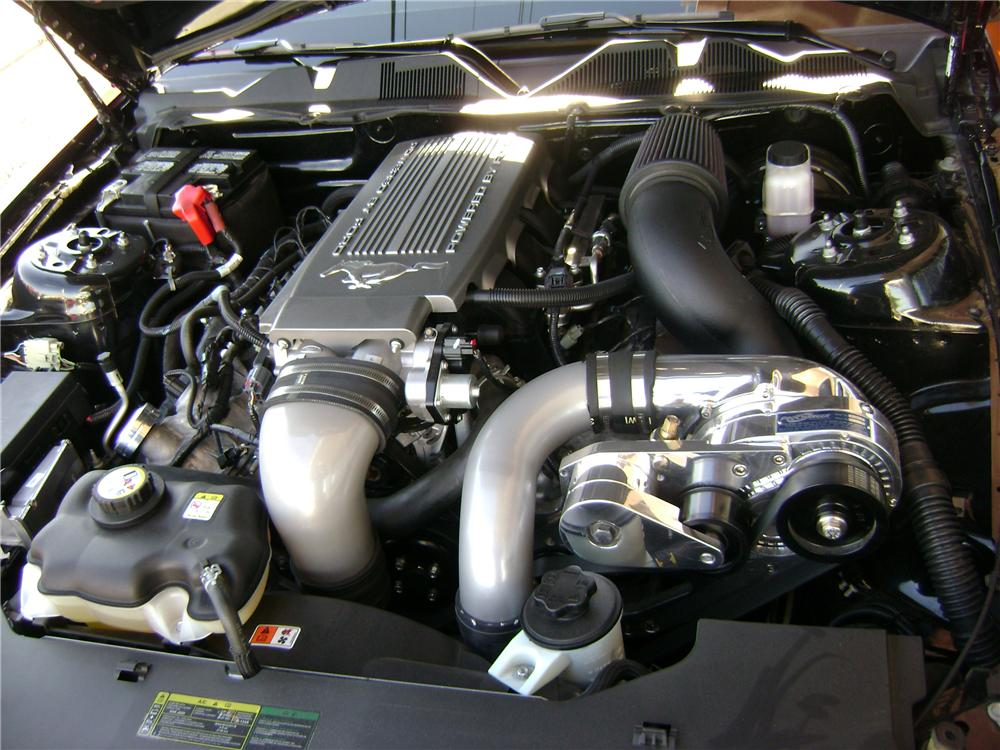 2010 FORD MUSTANG CUSTOM CONVERTIBLE - Engine - 94199