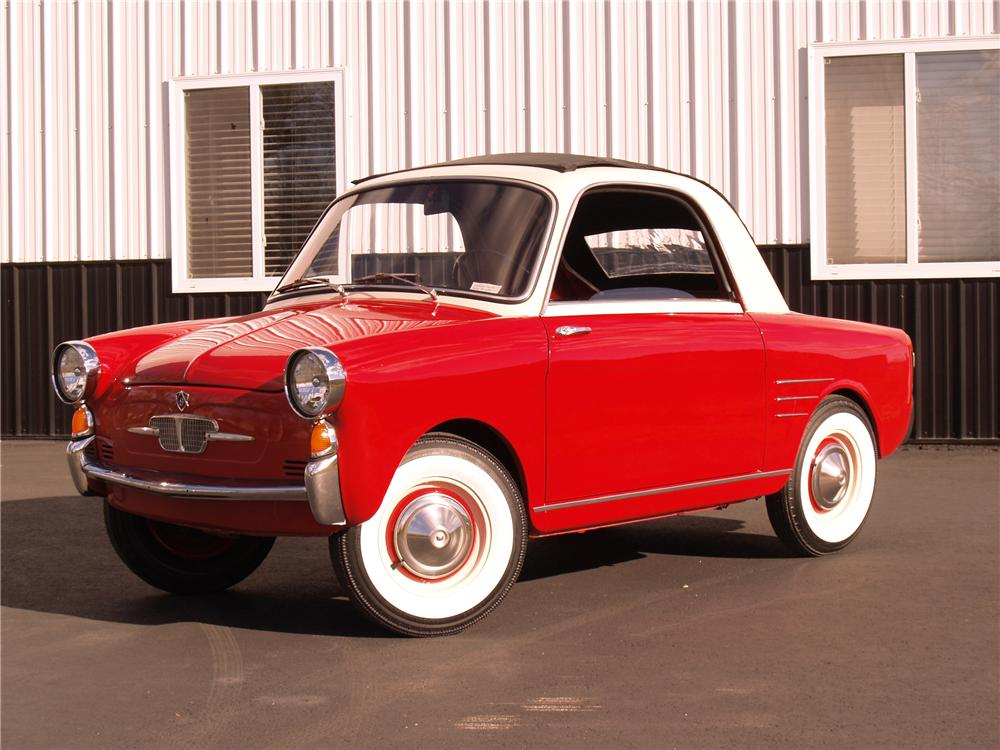 1959 AUTOBIANCHI TRANSFORMABLE 2 DOOR - Front 3/4 - 96071