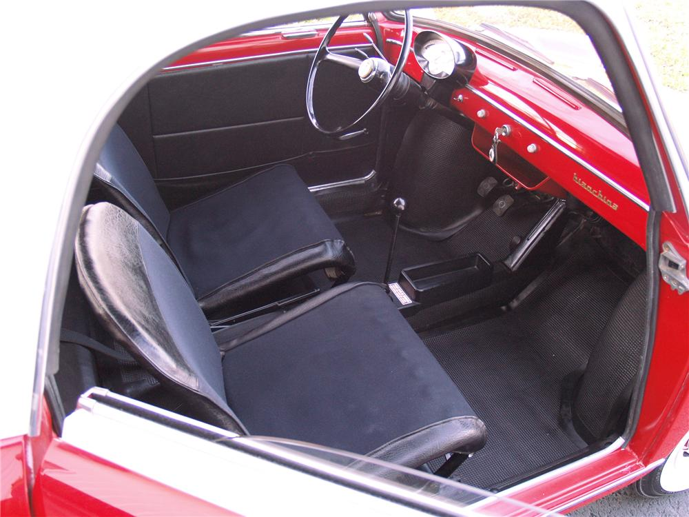 1959 AUTOBIANCHI TRANSFORMABLE 2 DOOR - Interior - 96071