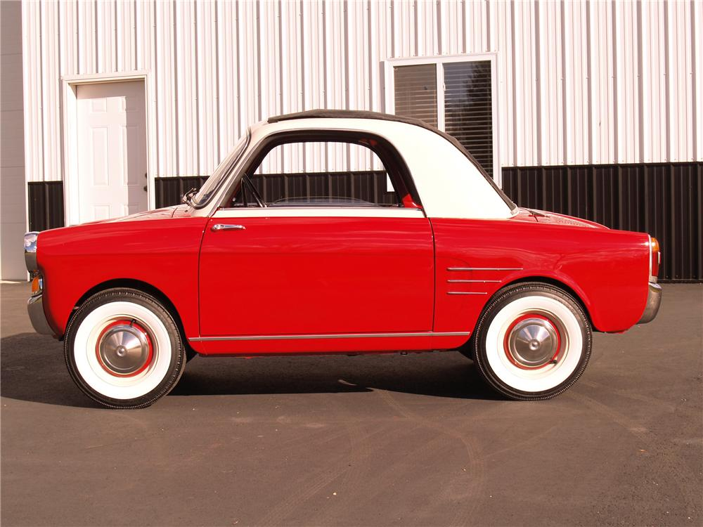 1959 AUTOBIANCHI TRANSFORMABLE 2 DOOR - Side Profile - 96071