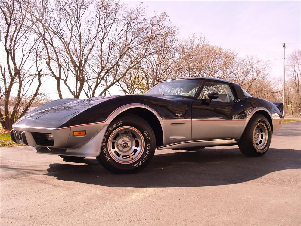 1978 CHEVROLET CORVETTE COUPE - Front 3/4 - 96072