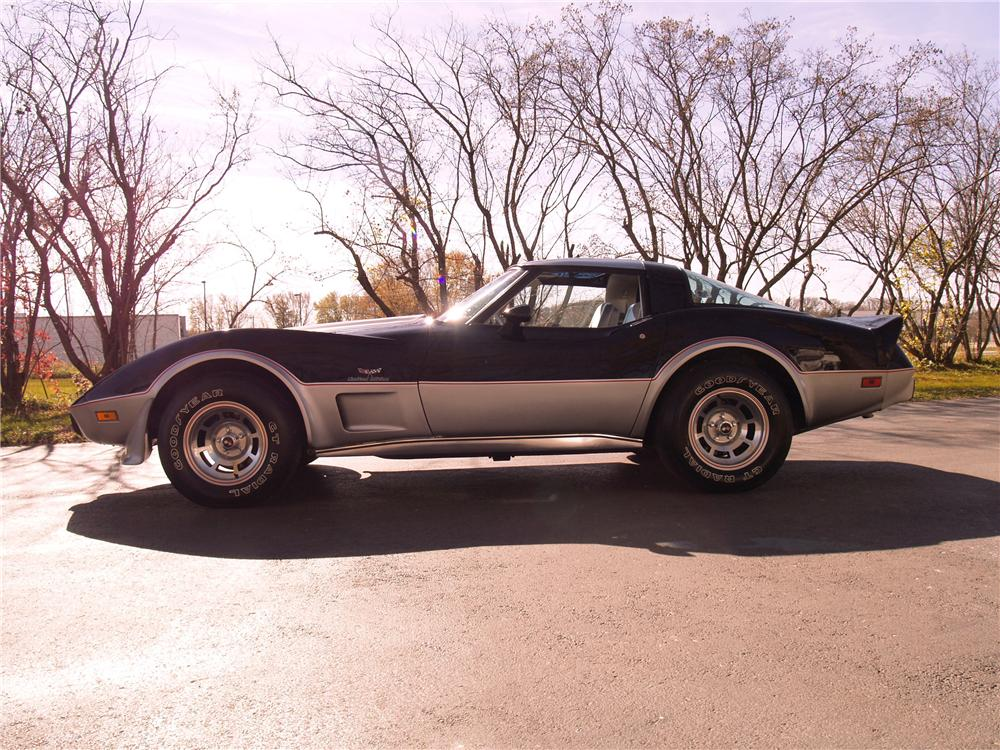1978 CHEVROLET CORVETTE COUPE - Side Profile - 96072