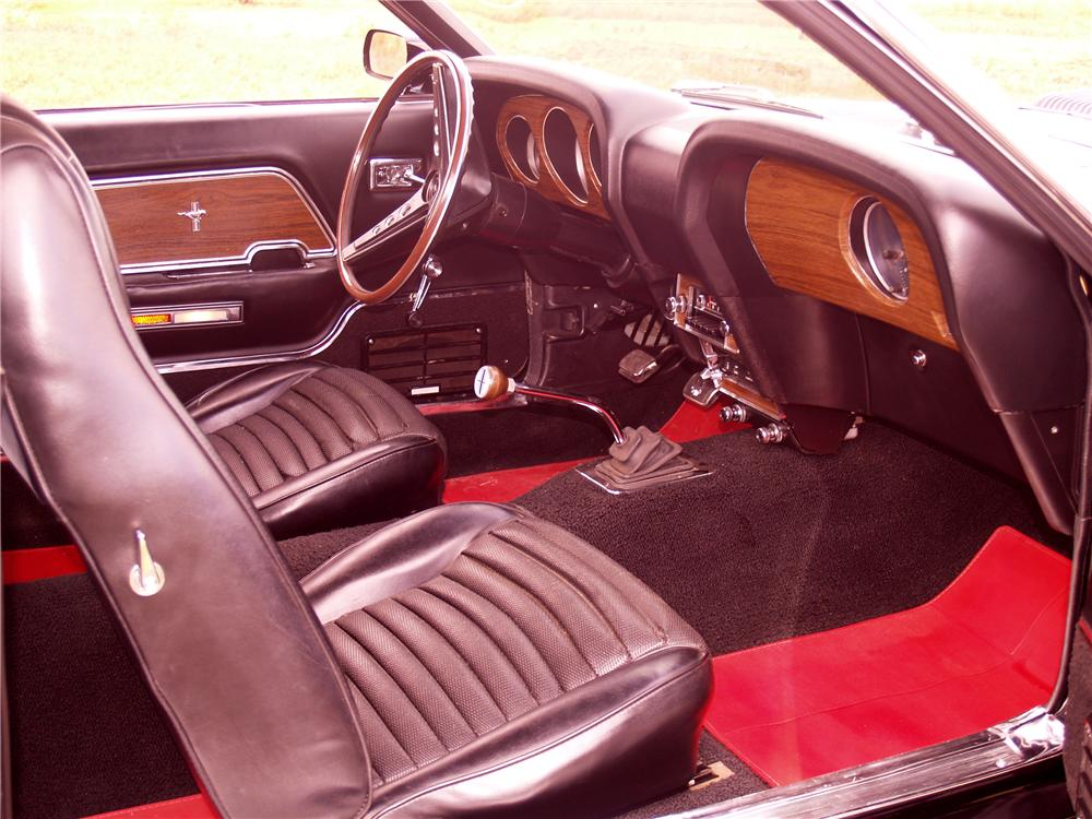 1969 FORD MUSTANG MACH 1 428 SCJ FASTBACK - Interior - 96073