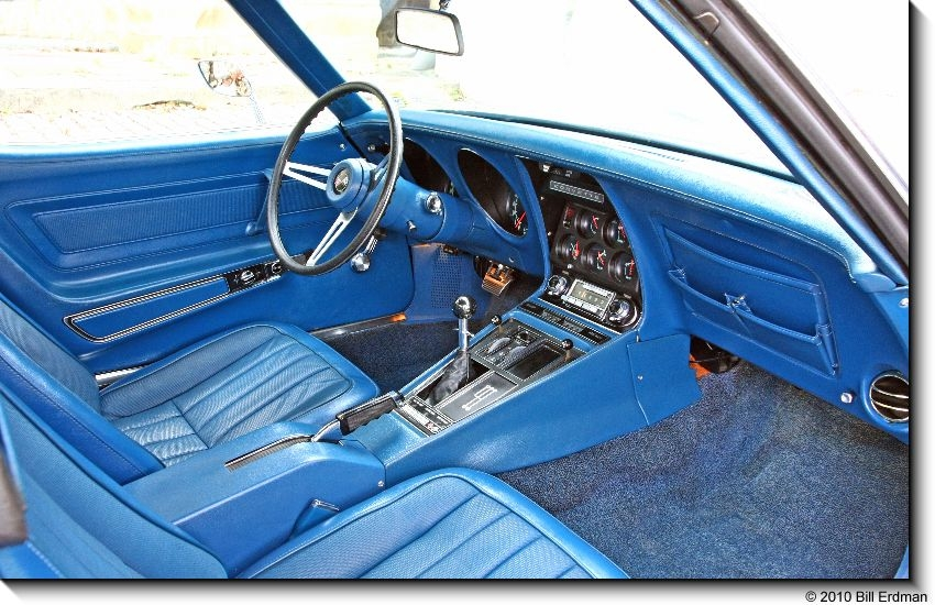 1971 CHEVROLET CORVETTE COUPE - Interior - 96080