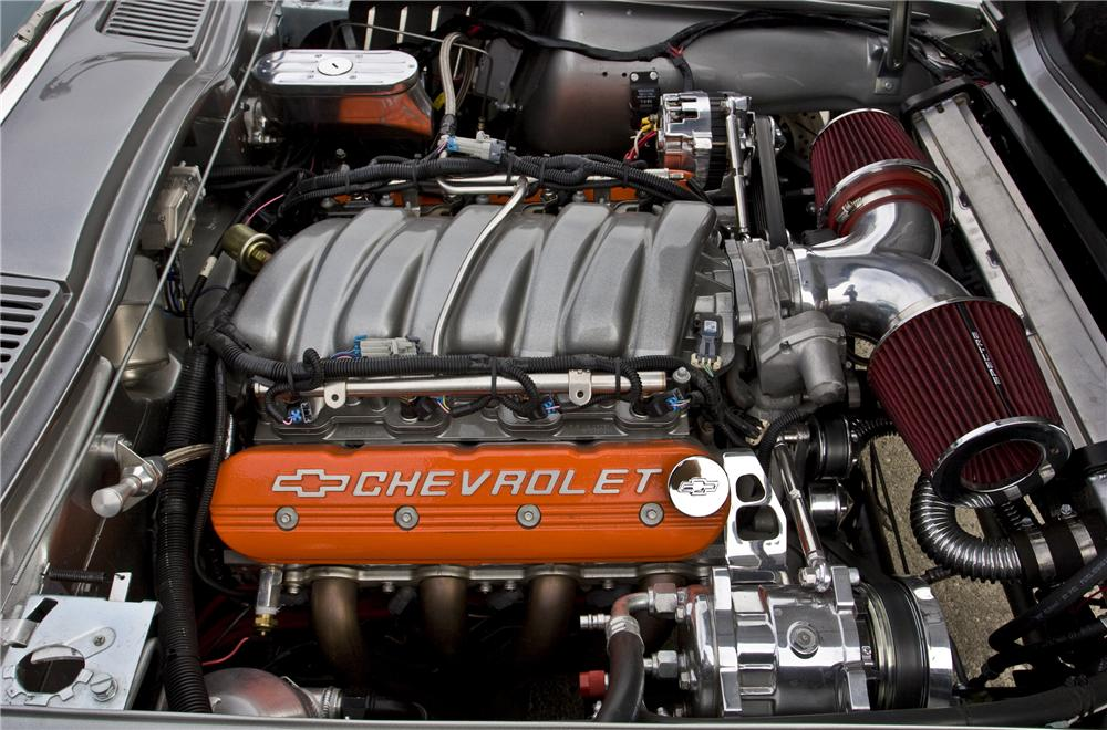 1966 CHEVROLET CORVETTE CUSTOM ROADSTER - Engine - 96084