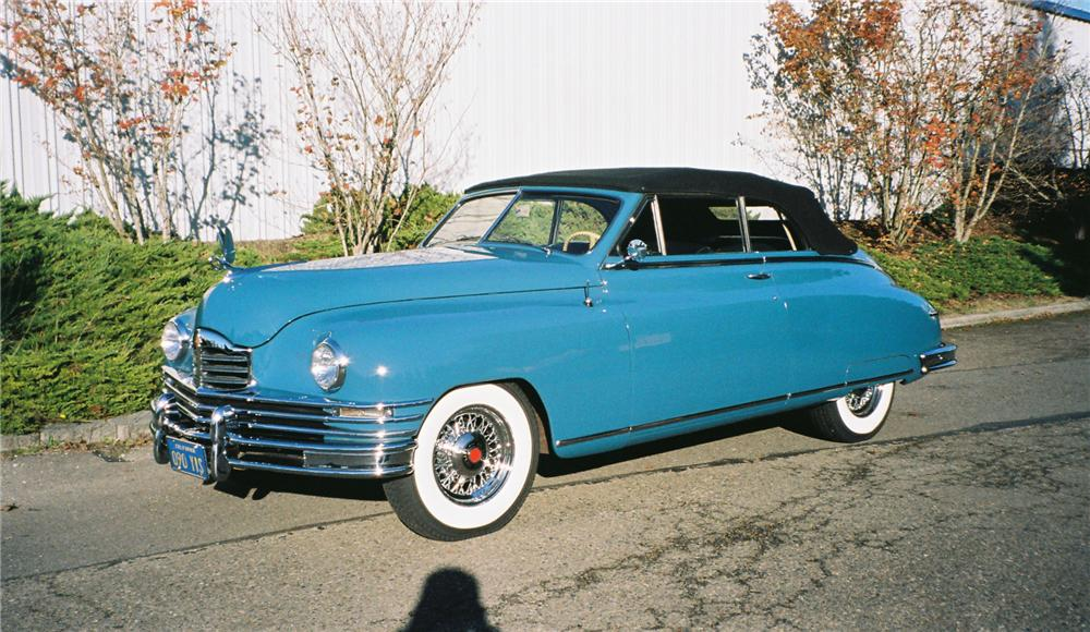 1948 PACKARD SUPER 8 VICTORIA 2 DOOR CONVERTIBLE - Front 3/4 - 96091