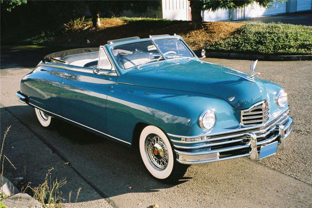 1948 PACKARD SUPER 8 VICTORIA 2 DOOR CONVERTIBLE - Side Profile - 96091