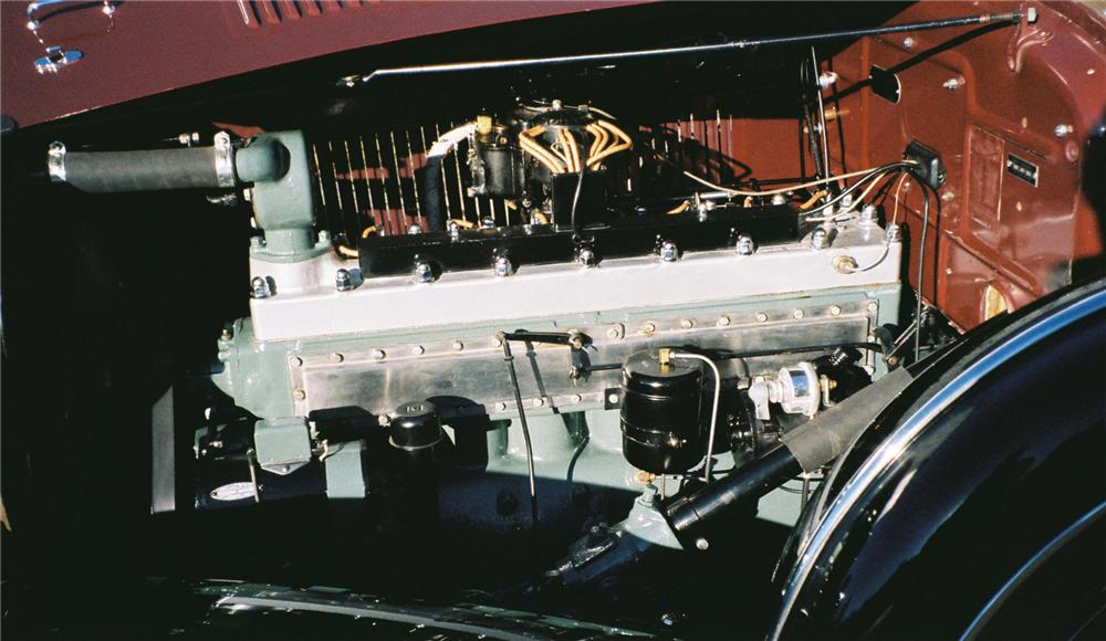1932 CHRYSLER IMPERIAL CONVERTIBLE SEDAN - Engine - 96092
