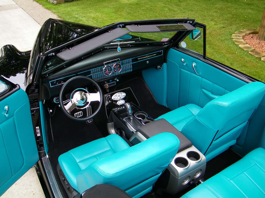1940 LASALLE 52 CUSTOM CONVERTIBLE - Interior - 96097