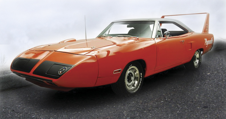 1970 PLYMOUTH SUPERBIRD 2 DOOR HARDTOP - Front 3/4 - 96098