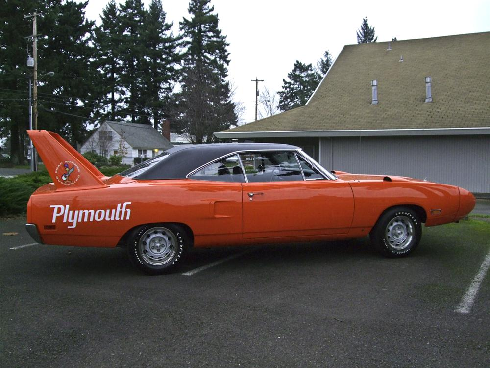 1970 PLYMOUTH SUPERBIRD 2 DOOR HARDTOP - Side Profile - 96098
