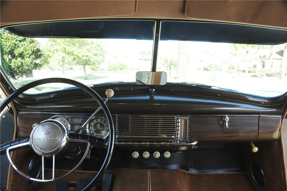 1948 PACKARD SERIES 22 WOODY WAGON - Interior - 96104