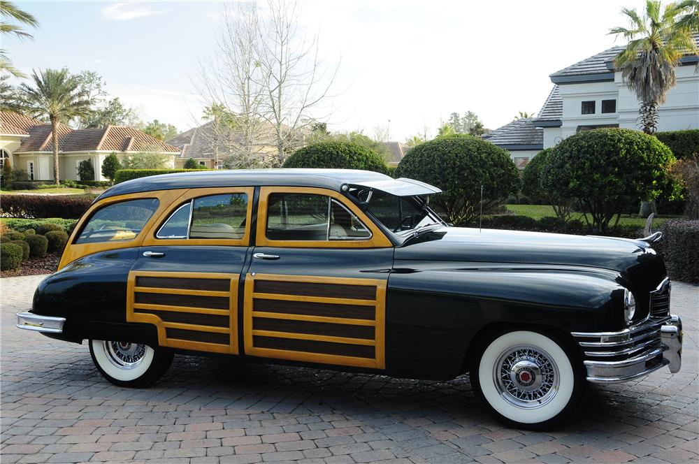 1948 PACKARD SERIES 22 WOODY WAGON - Side Profile - 96104