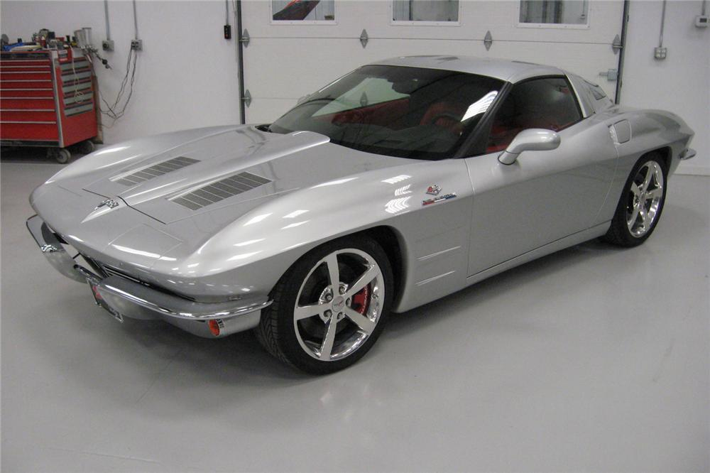 2009 CHEVROLET CORVETTE CUSTOM COUPE - Front 3/4 - 96105