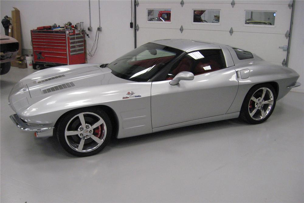 2009 CHEVROLET CORVETTE CUSTOM COUPE - Side Profile - 96105