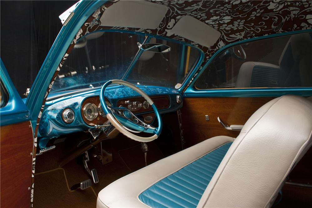 1950 FORD COUNTRY SQUIRE CUSTOM WOODIE WAGON - Interior - 96109