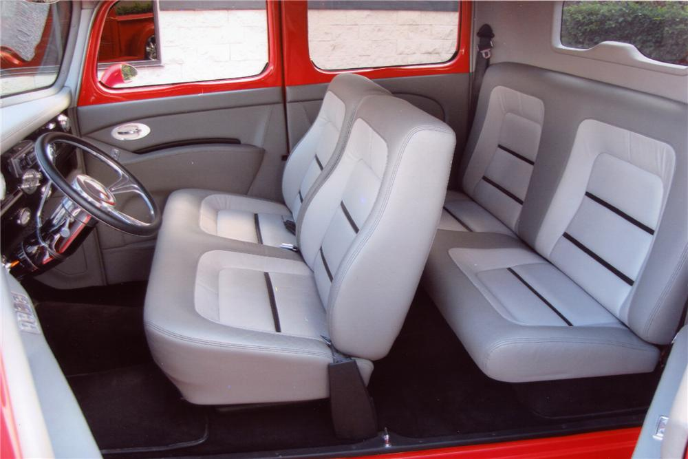 1940 FORD CREW CAB CUSTOM PICKUP - Interior - 96112