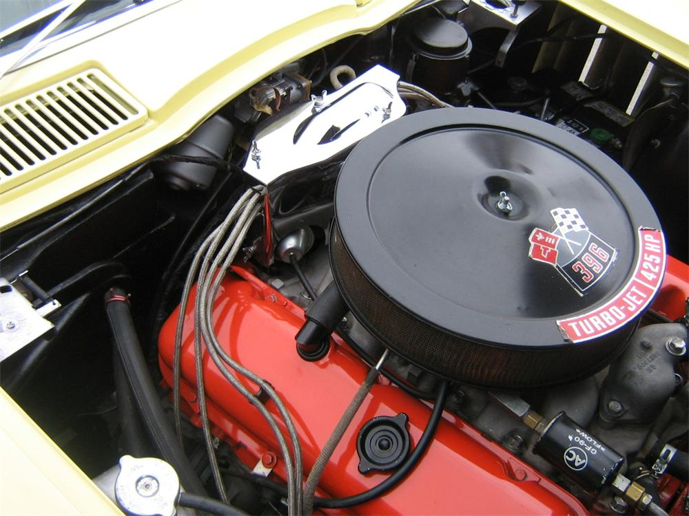 1965 CHEVROLET CORVETTE CONVERTIBLE - Engine - 96114