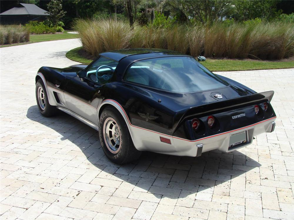 1978 CHEVROLET CORVETTE COUPE - Rear 3/4 - 96116