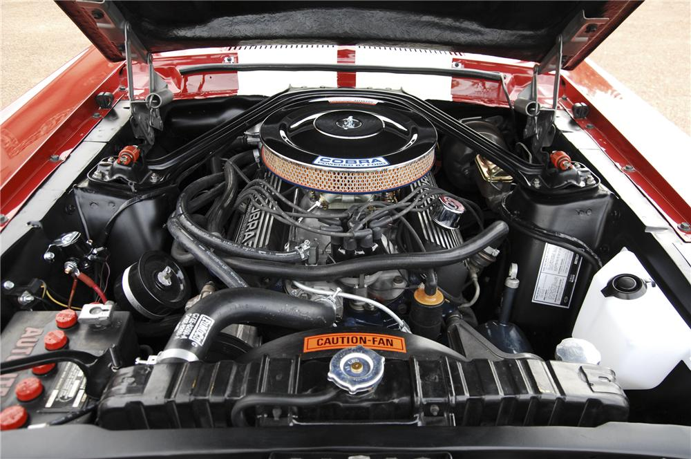1967 SHELBY GT350 FASTBACK - Engine - 96118