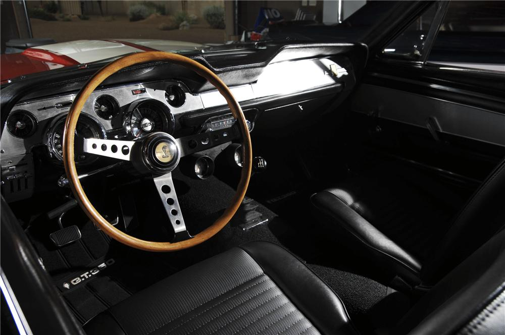1967 SHELBY GT350 FASTBACK - Interior - 96118