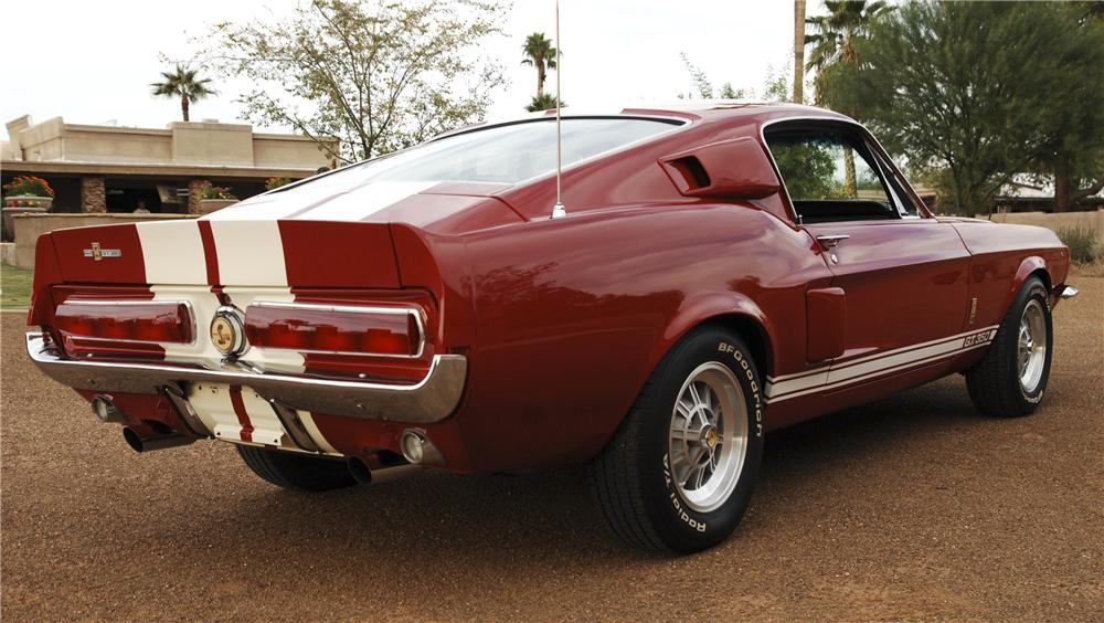 1967 SHELBY GT350 FASTBACK - Rear 3/4 - 96118