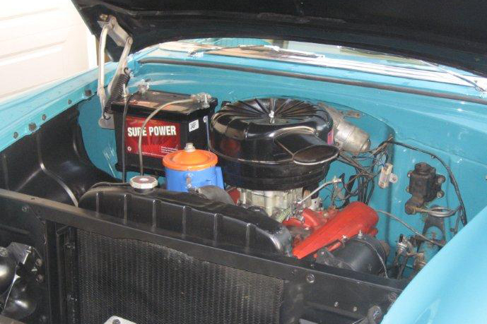 1955 CHEVROLET BEL AIR CONVERTIBLE - Engine - 96122