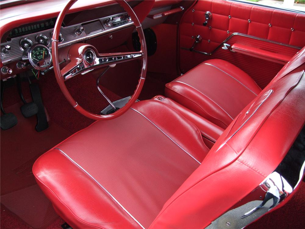1962 CHEVROLET IMPALA SS CONVERTIBLE - Interior - 96128