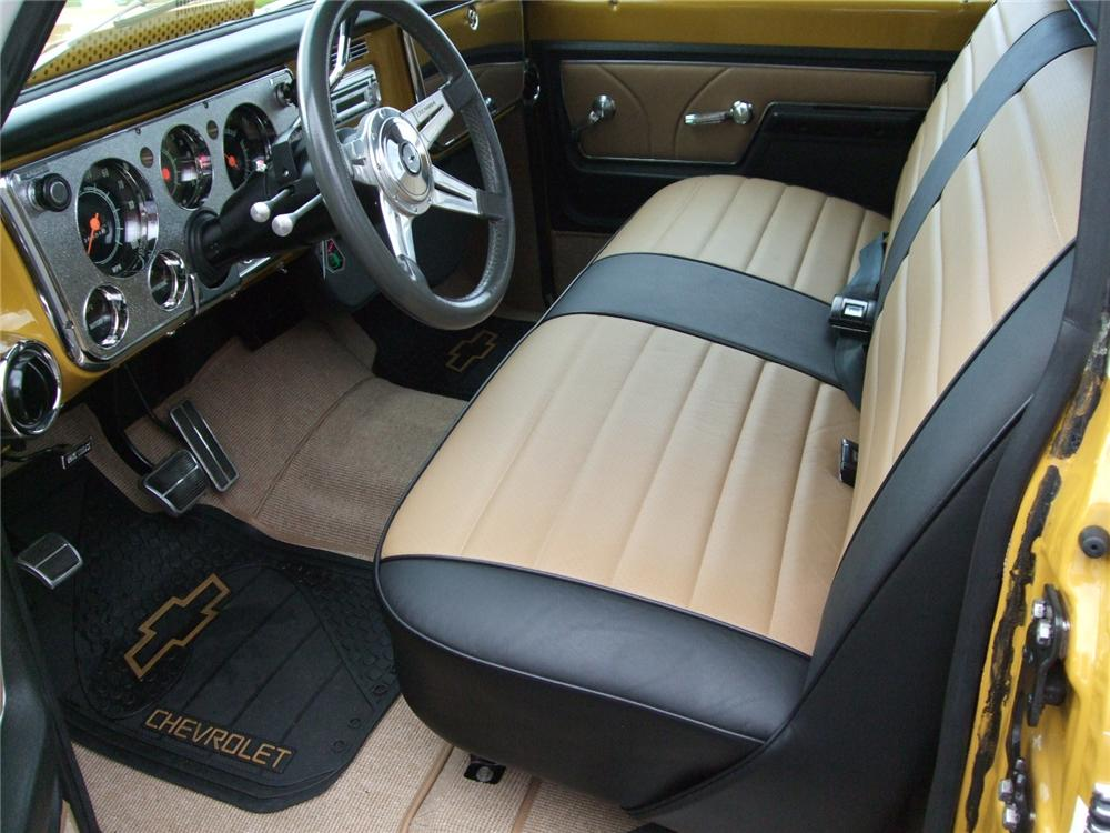 1972 CHEVROLET C-10 CUSTOM PICKUP - Interior - 96129