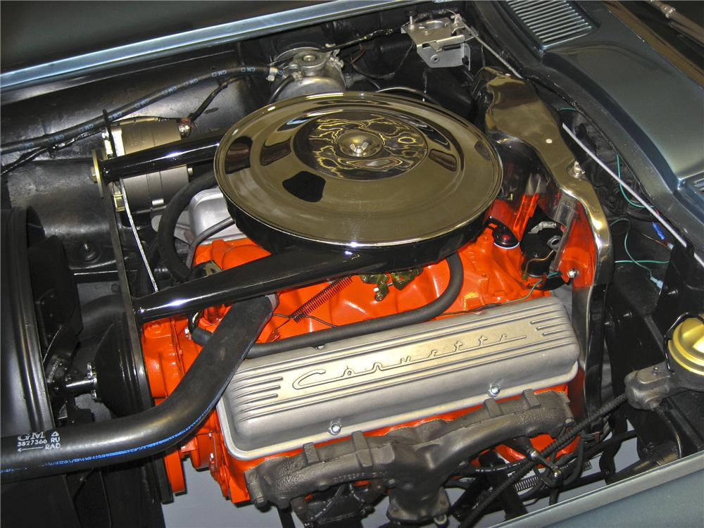 1963 CHEVROLET CORVETTE CONVERTIBLE - Engine - 96130