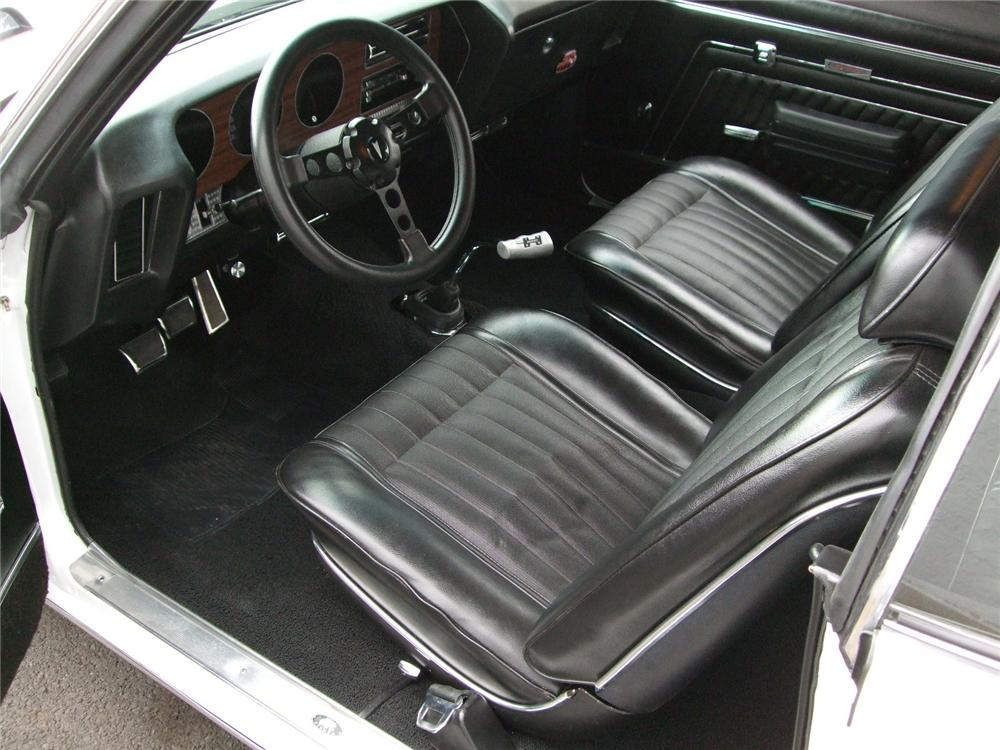 1970 PONTIAC GTO CUSTOM 2 DOOR HARDTOP - Interior - 96131