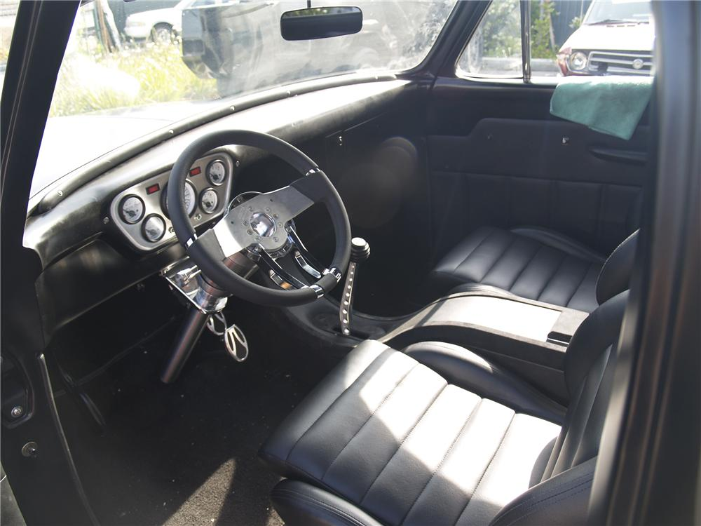 1955 FORD F-100 CUSTOM PICKUP - Interior - 96136