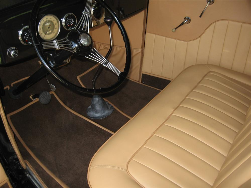 1935 FORD 3 WINDOW CUSTOM COUPE - Interior - 96145
