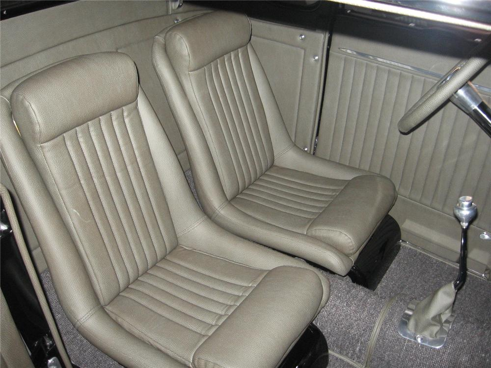 1929 FORD 5 WINDOW CUSTOM COUPE - Interior - 96151