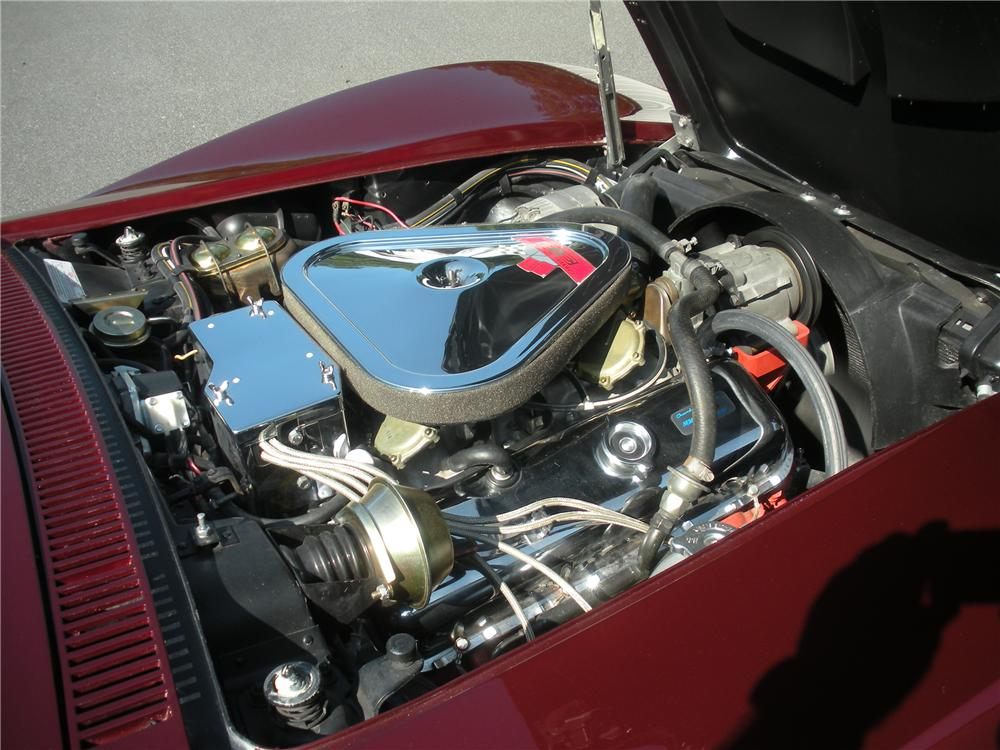 1969 CHEVROLET CORVETTE CONVERTIBLE - Engine - 96156