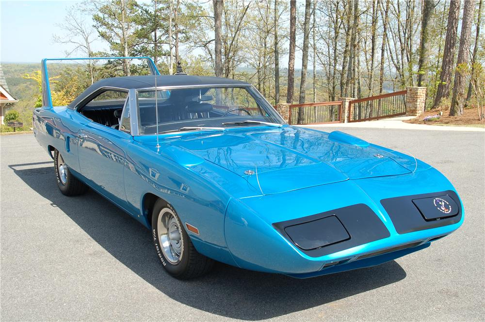 1970 PLYMOUTH SUPERBIRD 2 DOOR COUPE - Front 3/4 - 96157