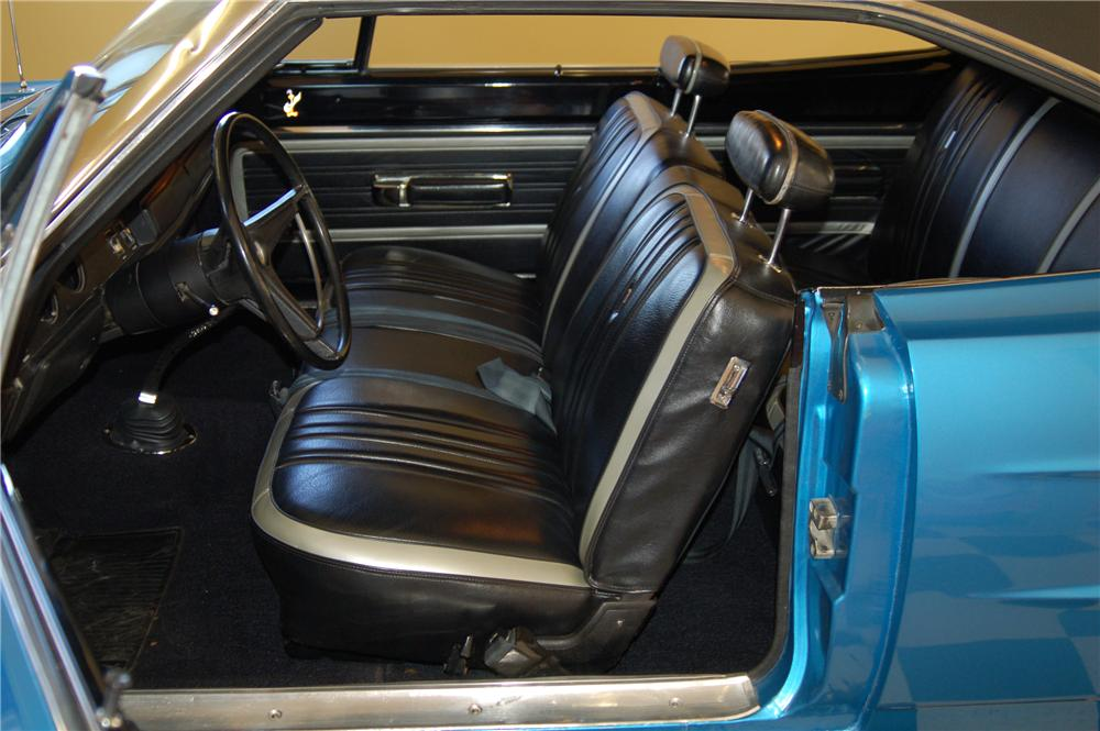1970 PLYMOUTH SUPERBIRD 2 DOOR COUPE - Interior - 96157